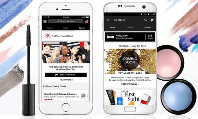 Sephora Amazing App Design