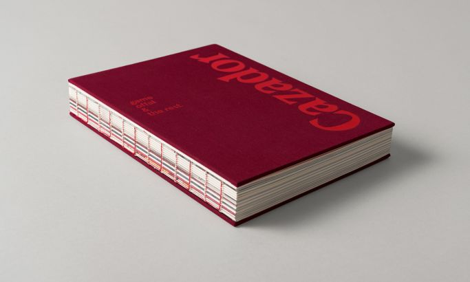 Cazador Cookbook by Tim Donaldson Great Print Design