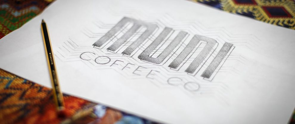 Muni Coffee Company Cool Print Design
