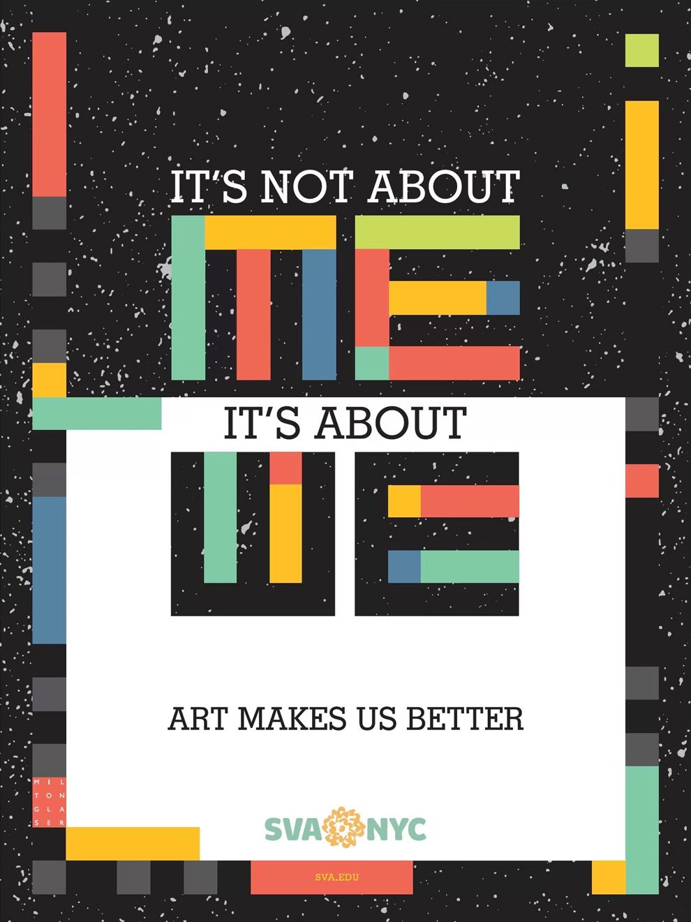Milton Glaser's Underground Images Political Print Design