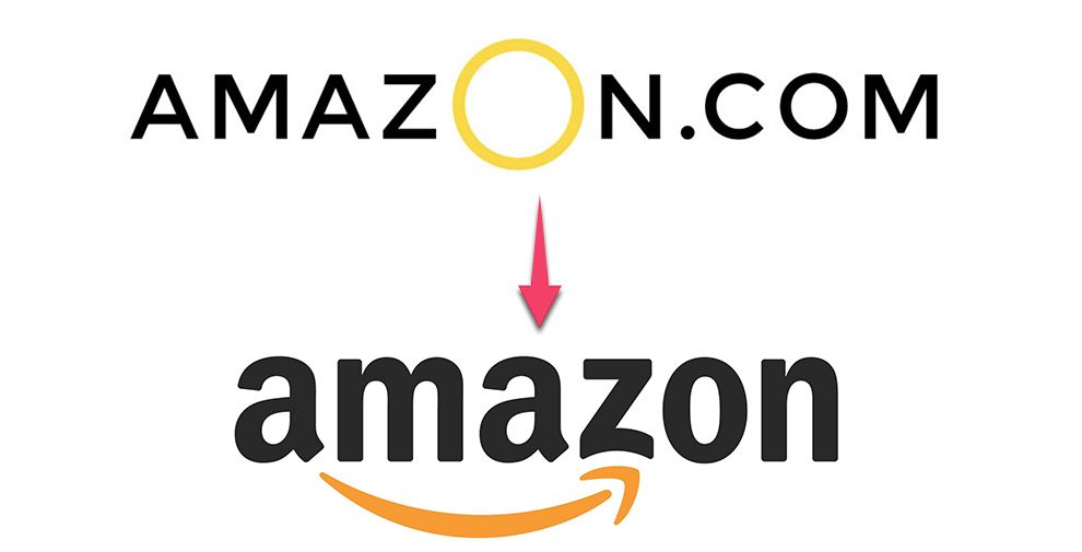 Amazon Logos Old And New