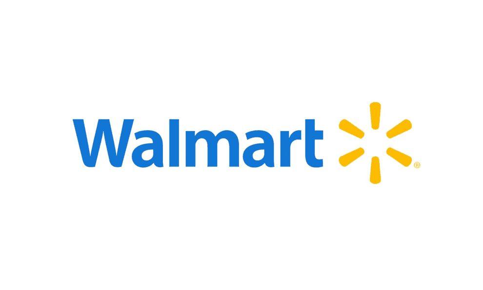 Walmart Logo Website Design