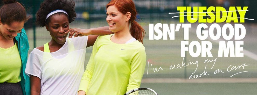 Sport England Creative Print Ad