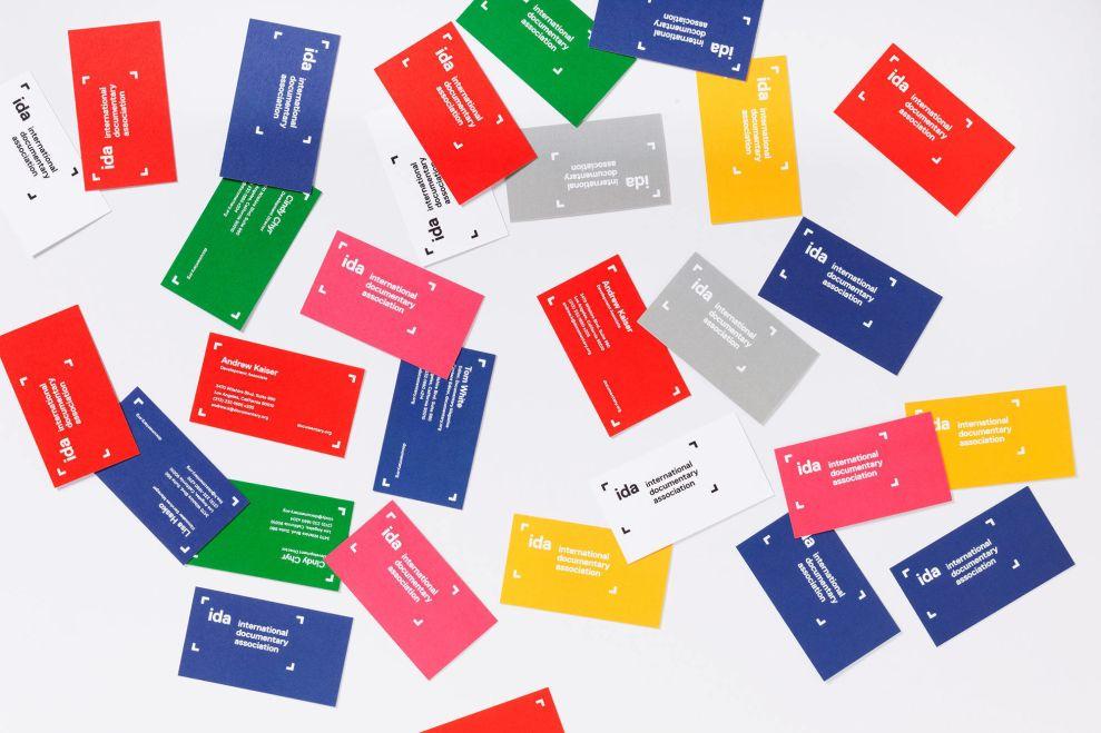 IDA Business Cards Print Design