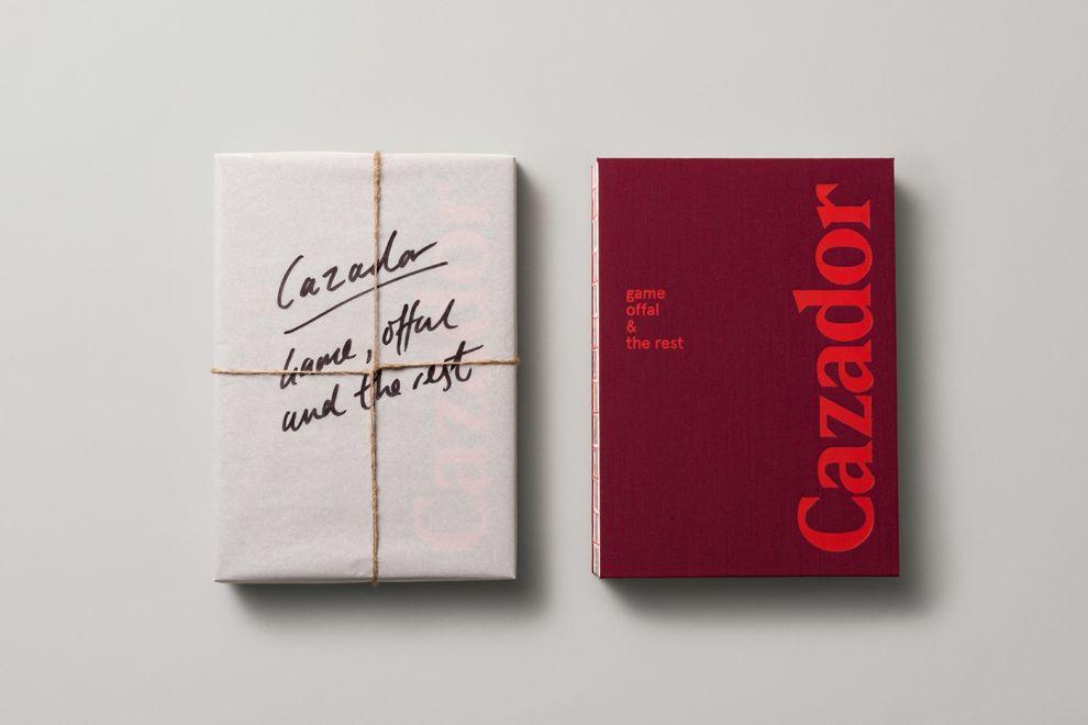 Cazador Cookbook by Tim Donaldson Stunning Print Design