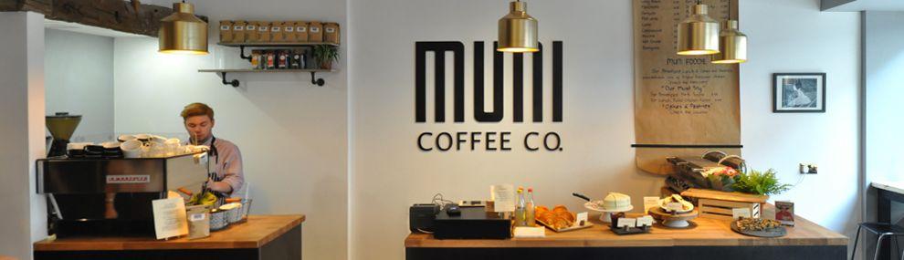 Muni Coffee Company Cool Logo Design