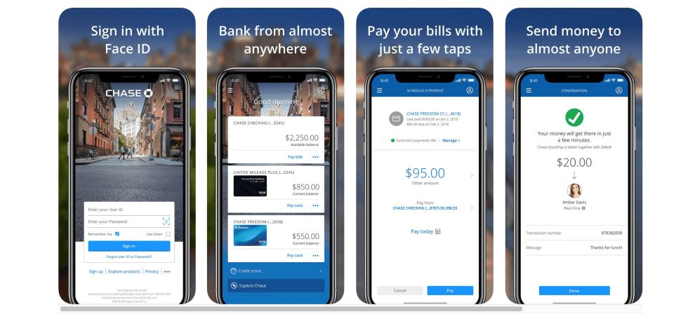 Chase iOS App Design
