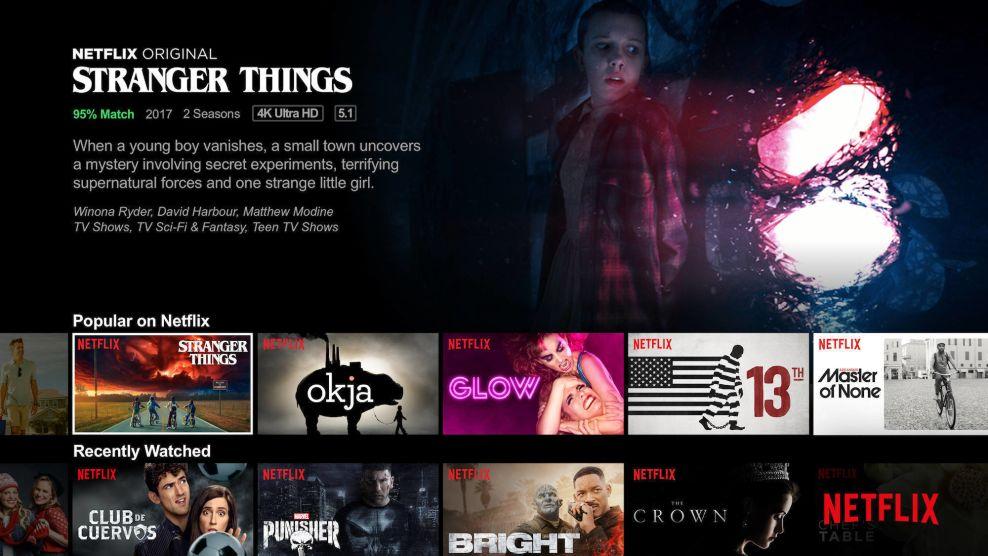 Netflix Top Website Design