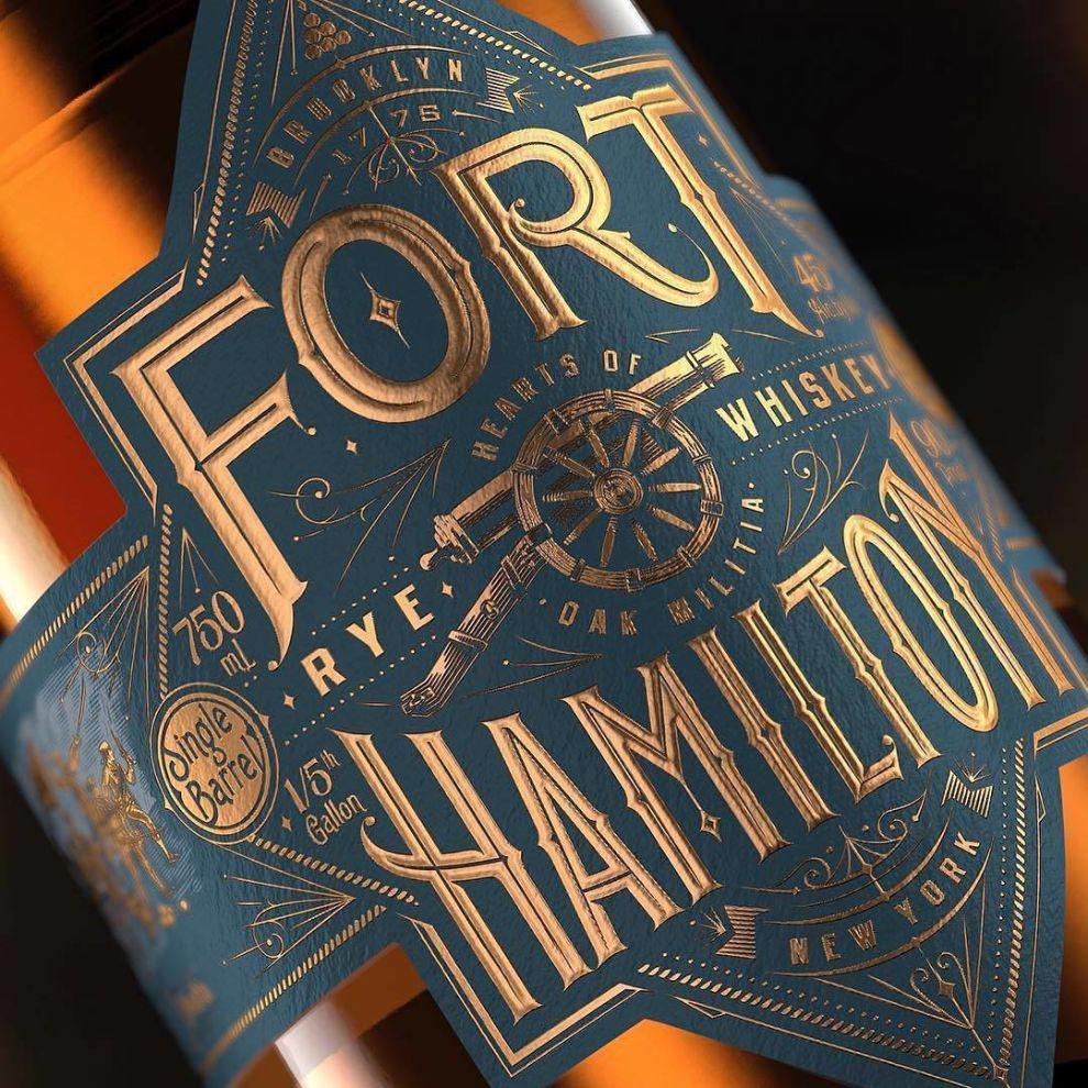 Fort Hamilton Label Package Design