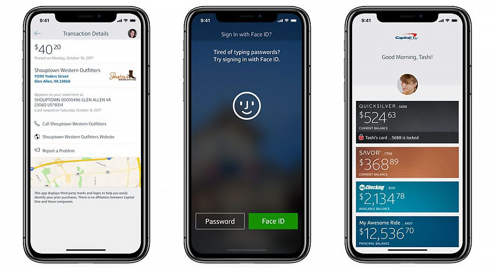 Capital One Best App Design