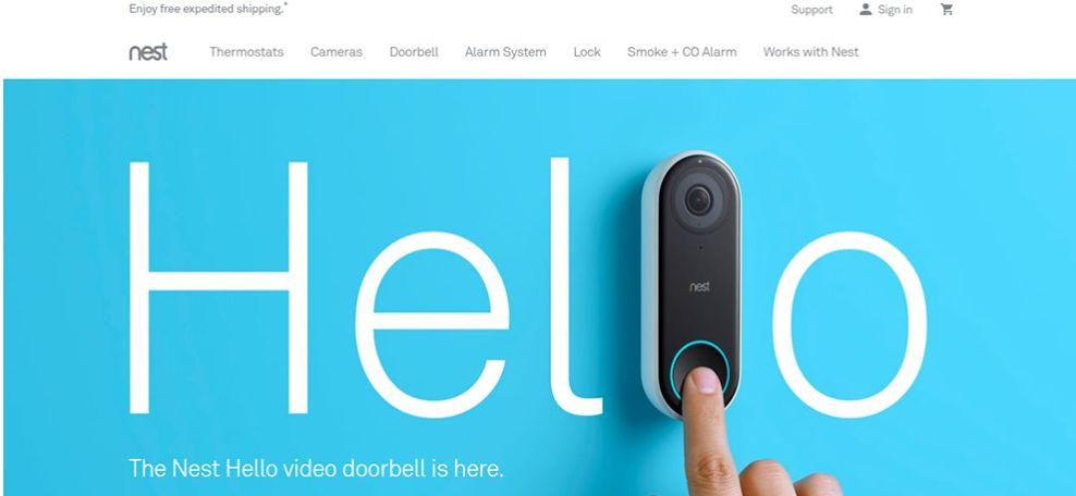 Nest Top Website Design
