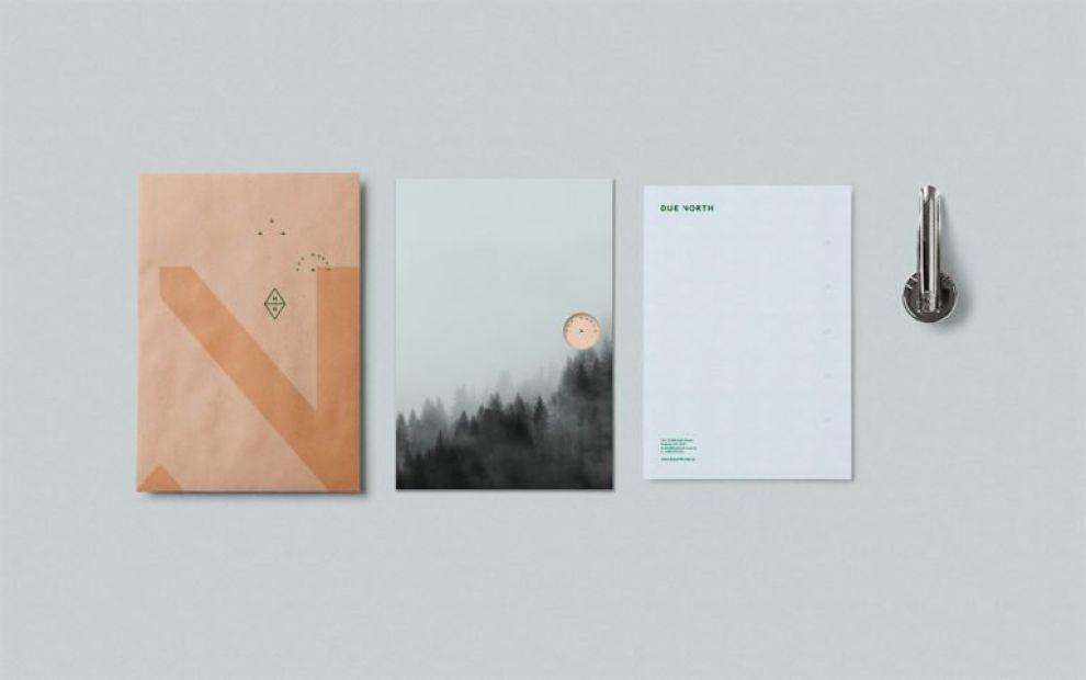 Due North Gorgeous Print Design