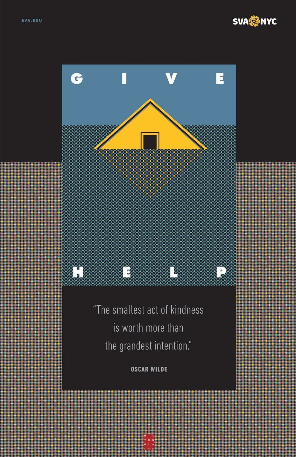 Milton Glaser's Underground Images Print Design
