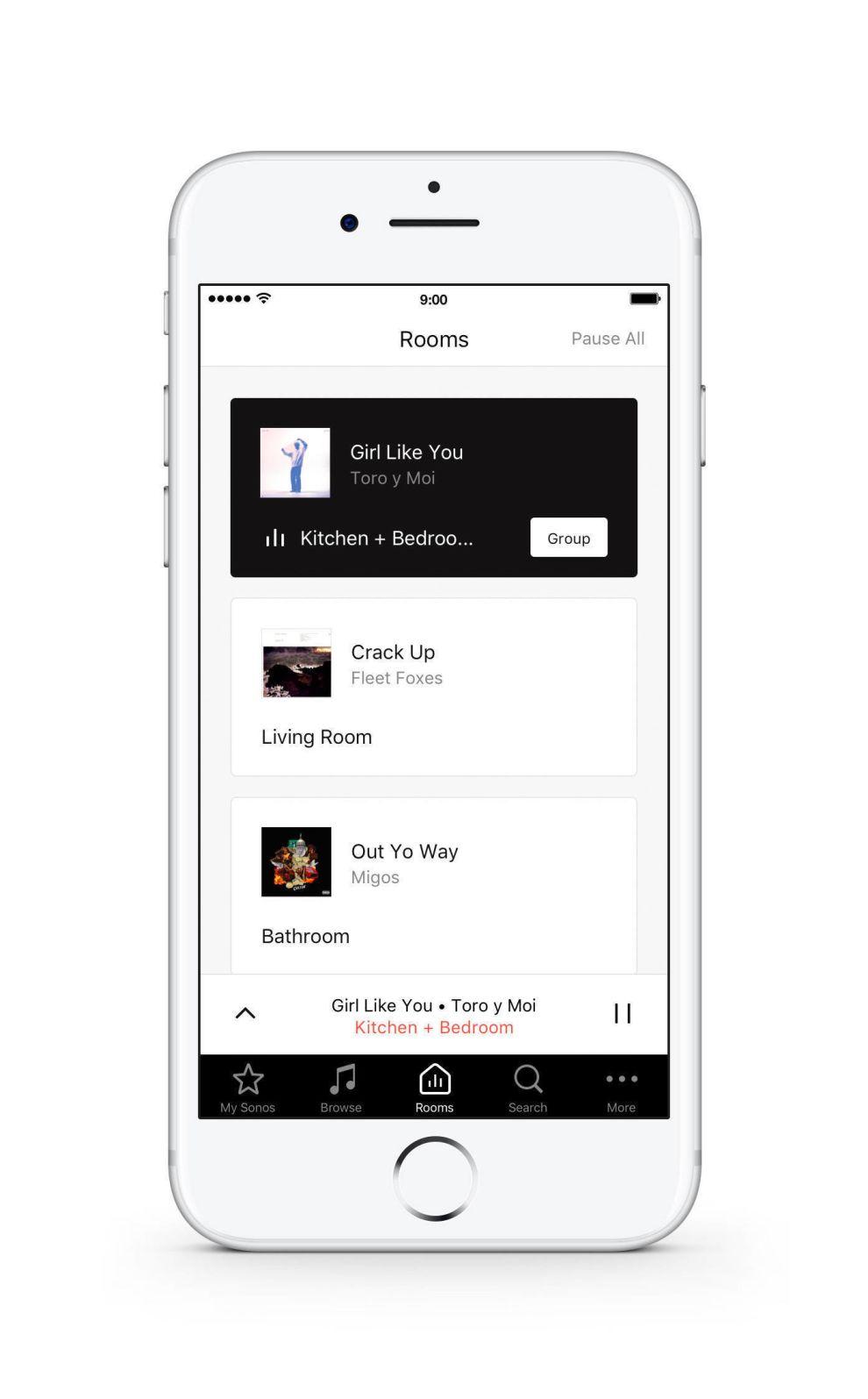 Sonos App Features