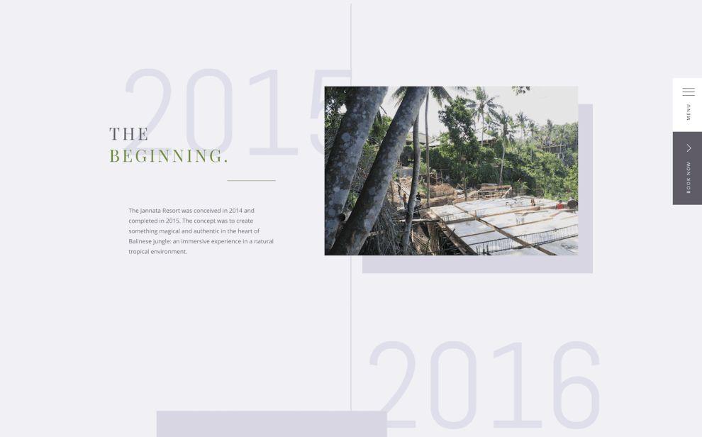 Jannata Menu Website Design