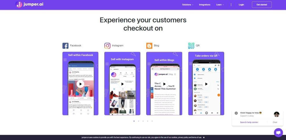 Jumper Exciting Web Design