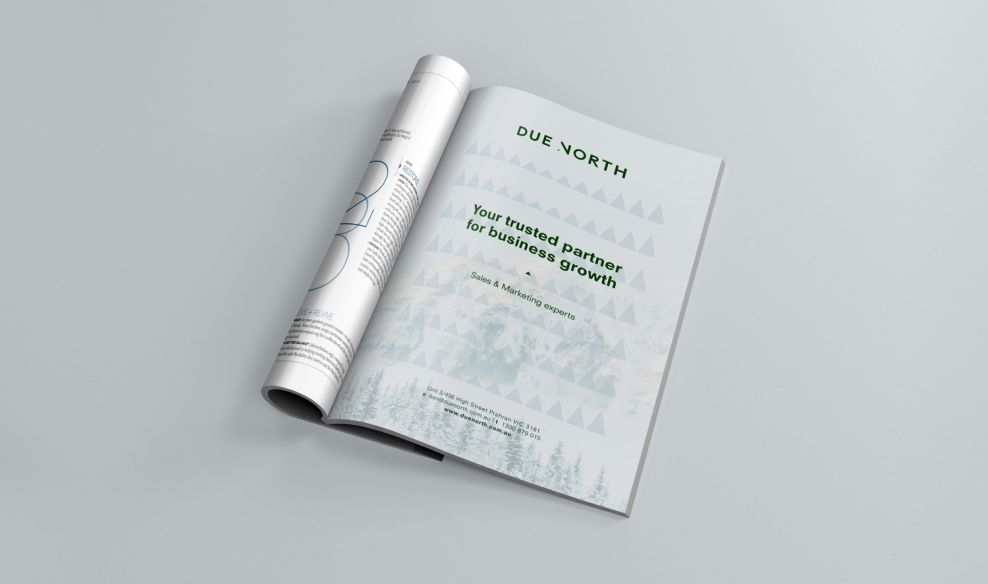 Due North Clean Print Design