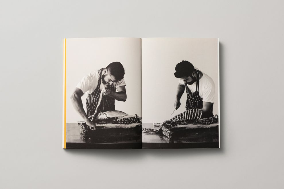 Cazador Cookbook by Tim Donaldson Elegant Print Design