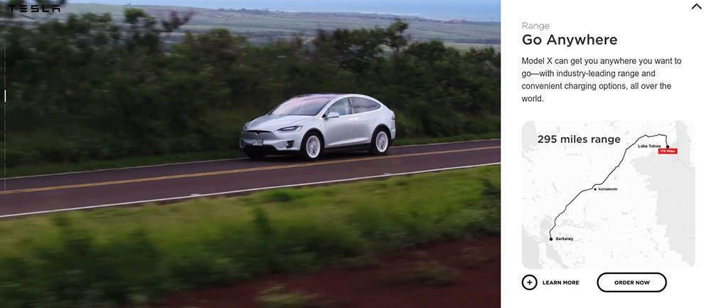 Tesla Great Website Design