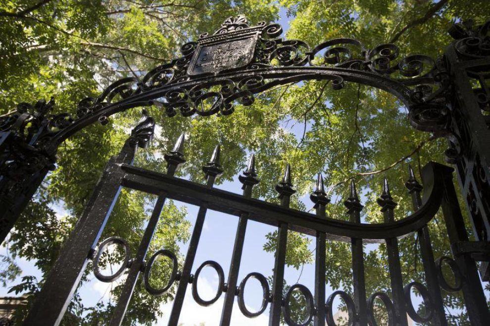 Harvard Coat Of Arms Gate