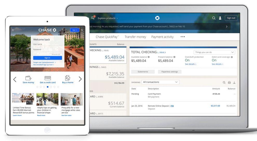Chase App Screens App Design