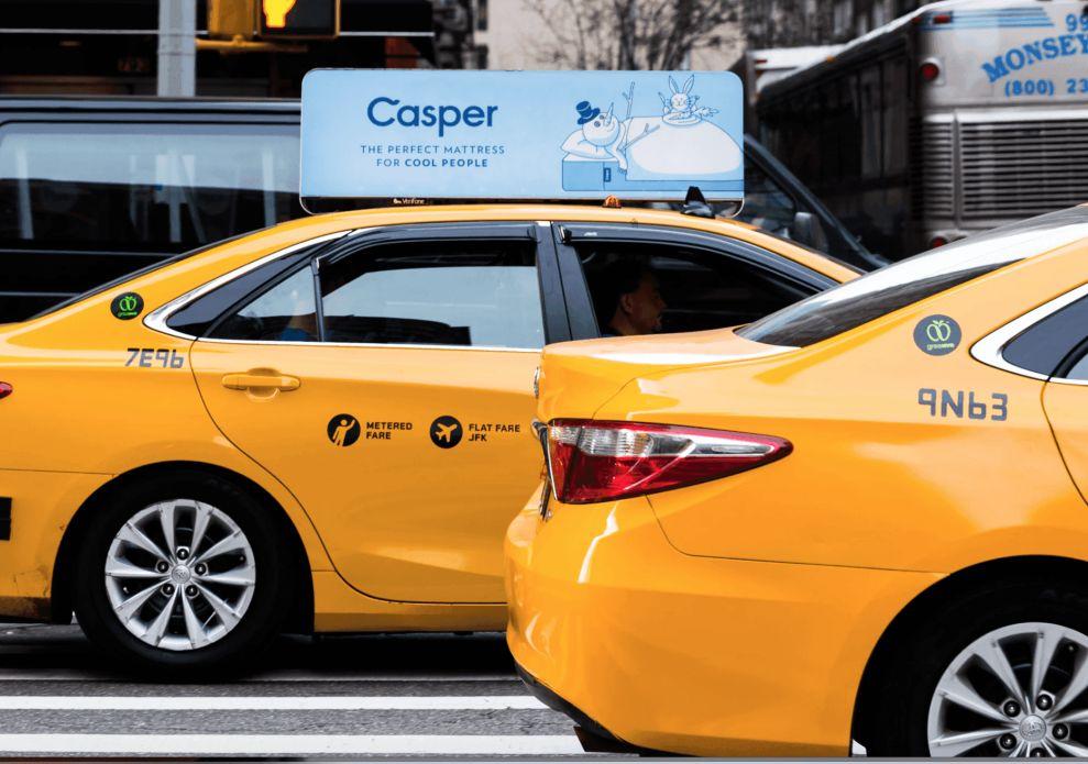 Casper Cab Print Design