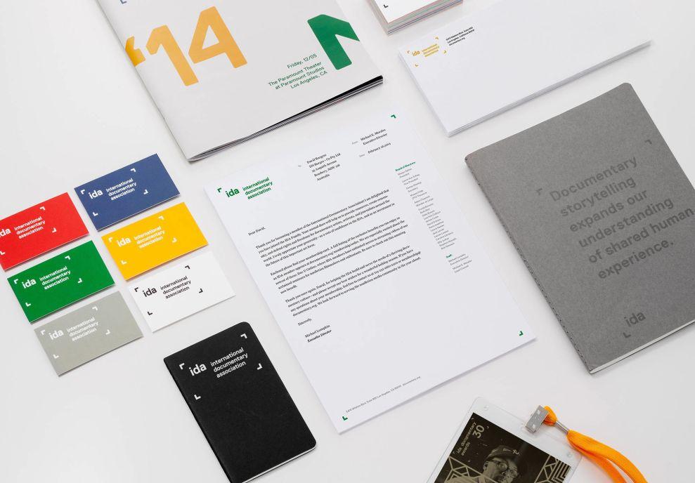 IDA Materials Print Design
