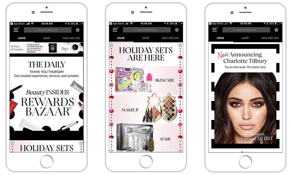 Sephora Clean App Design
