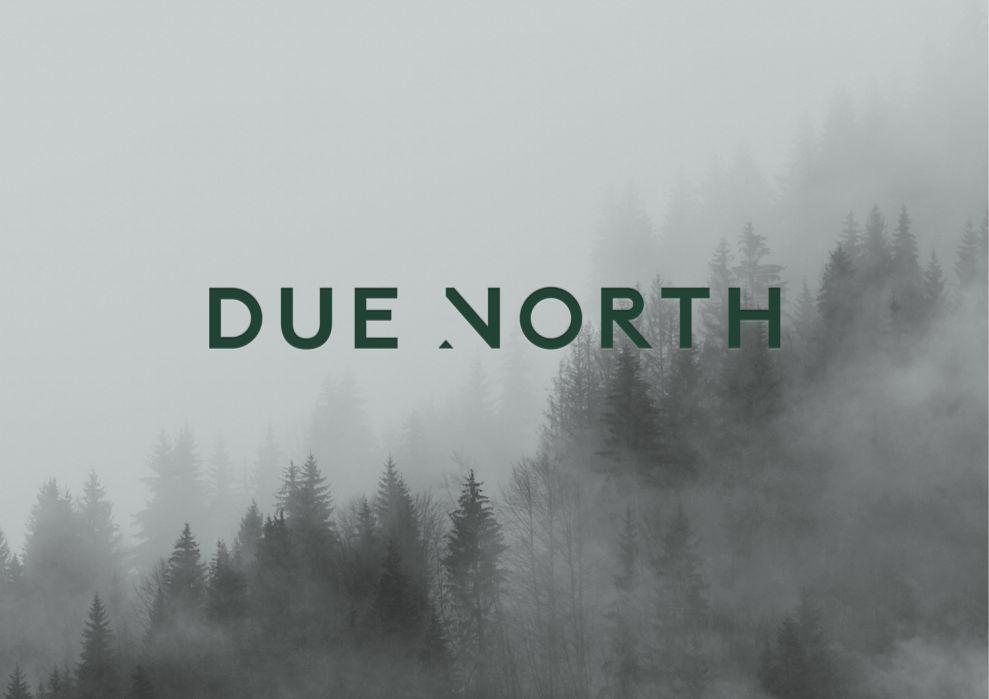 Due North Print Design