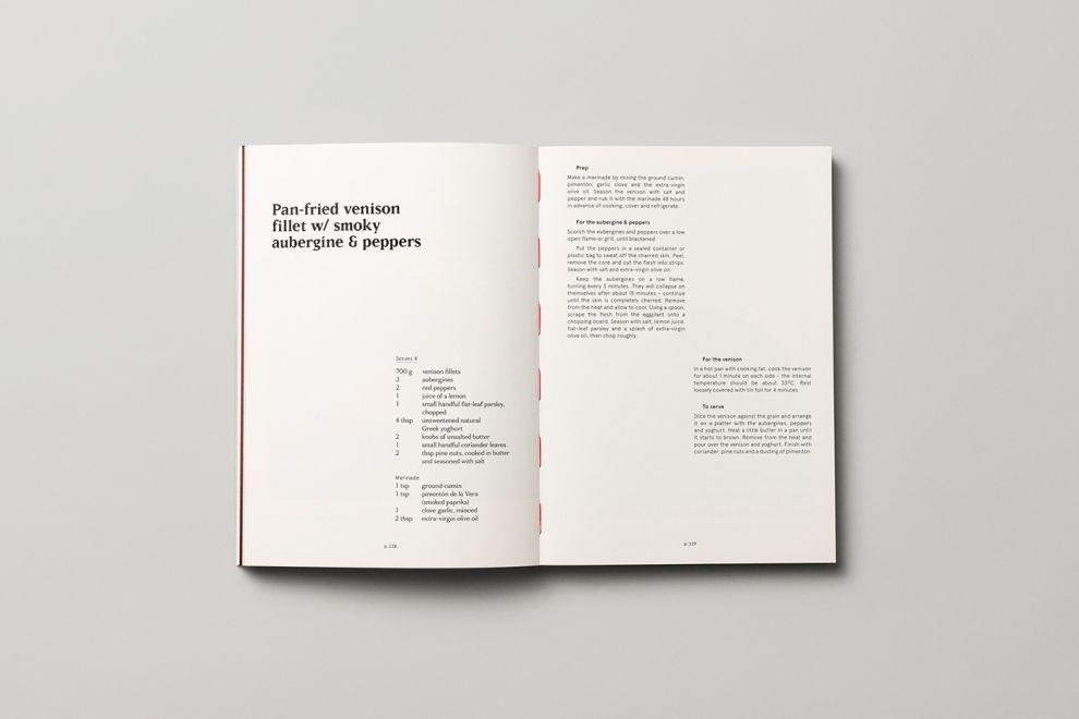 Cazador Cookbook by Tim Donaldson Print Design