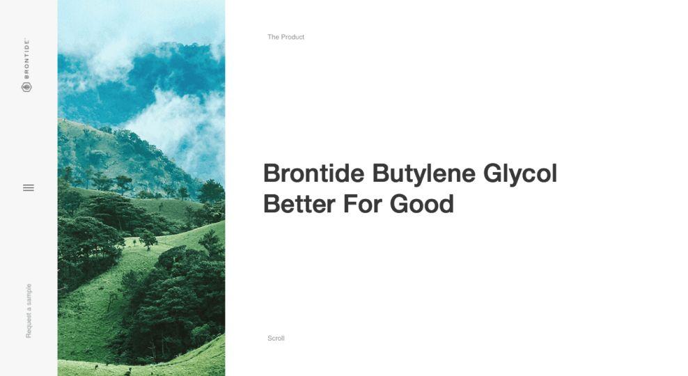 Brontide Best Website Design Product Page