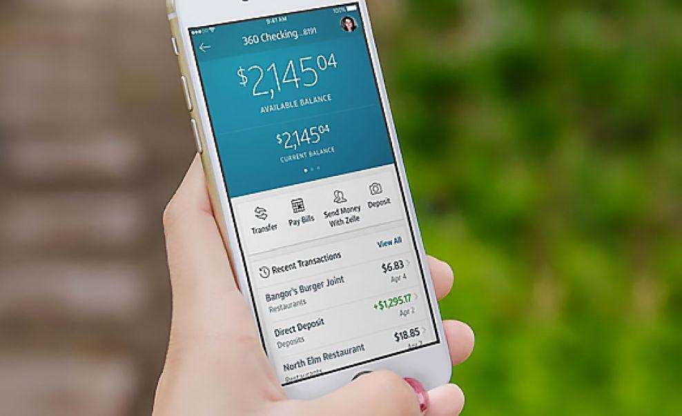 Capital One Clean App Design