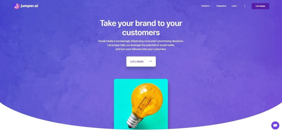 Jumper Clean Web Design
