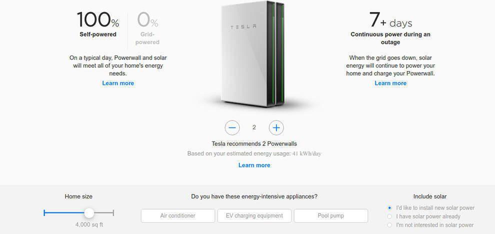 Tesla Website Design Company Information