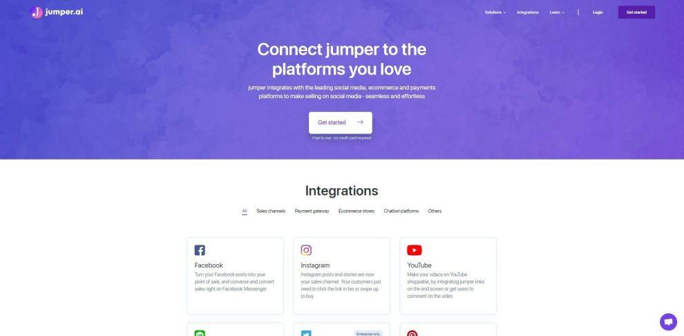 Jumper Intuitive Web Design