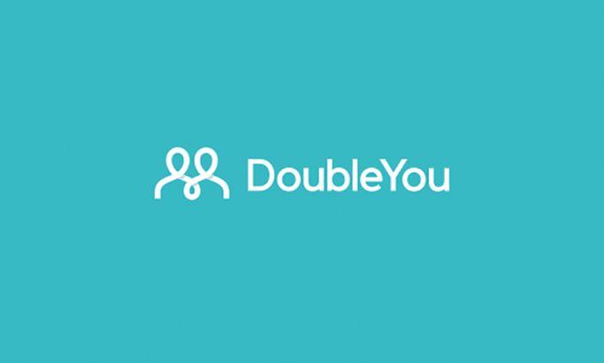 Double You Minimal Logo Design