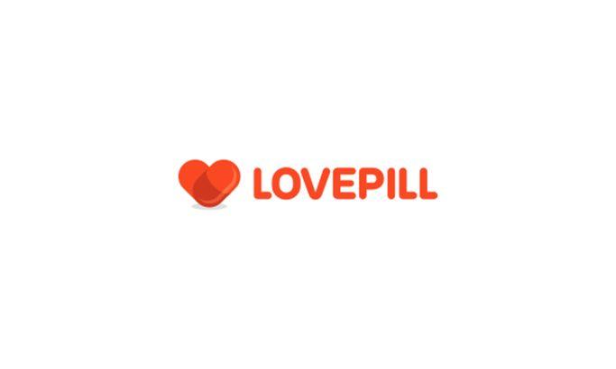 Love Pill Bold Logo Design