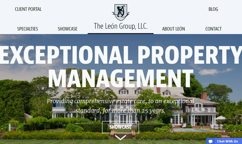 Leon Group Logo Design