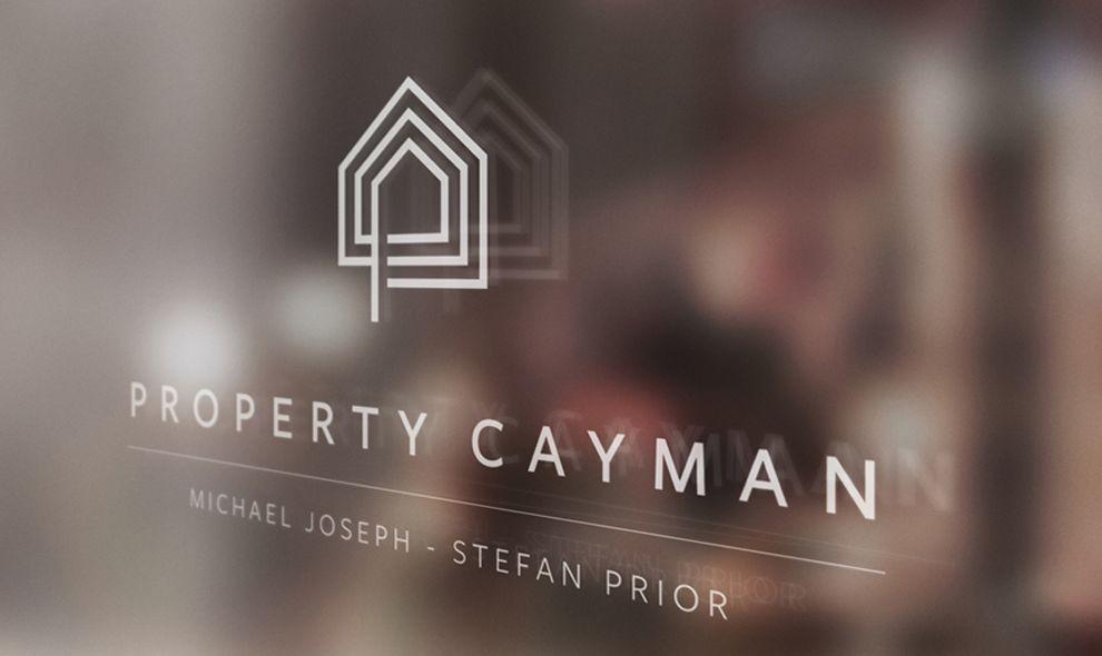 Property Cayman Clean Logo Design