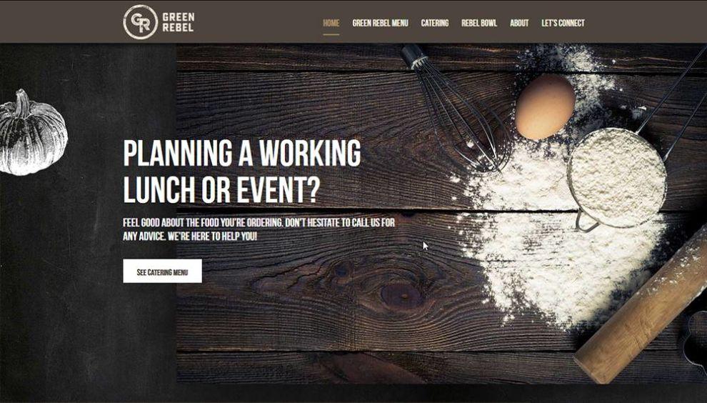 Green Rebel Professional Website Design