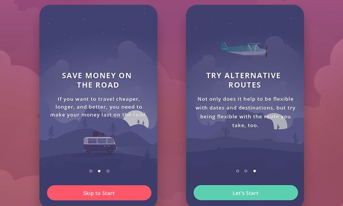 Dilly App Illustrated App Design