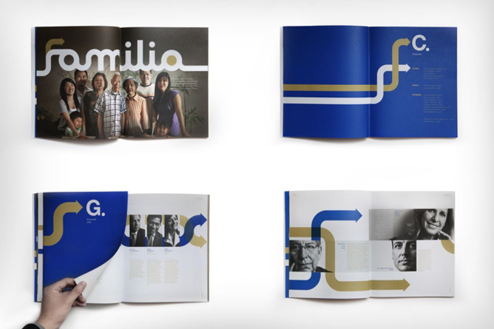 San Fernando Reporte Anual 2012 Print Design