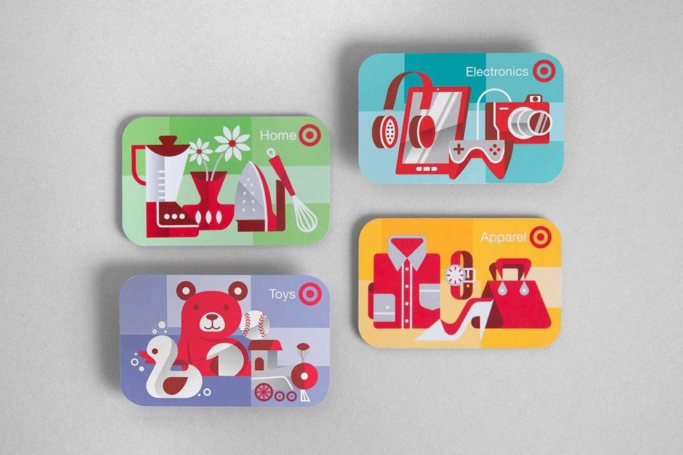 Target Gift Cards Great Print Design