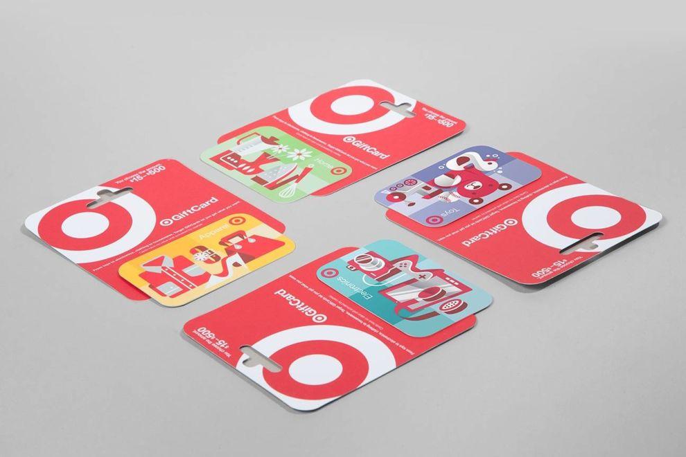 Target Gift Cards Print Design