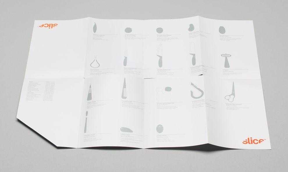 Slice Identity Clean Print Design