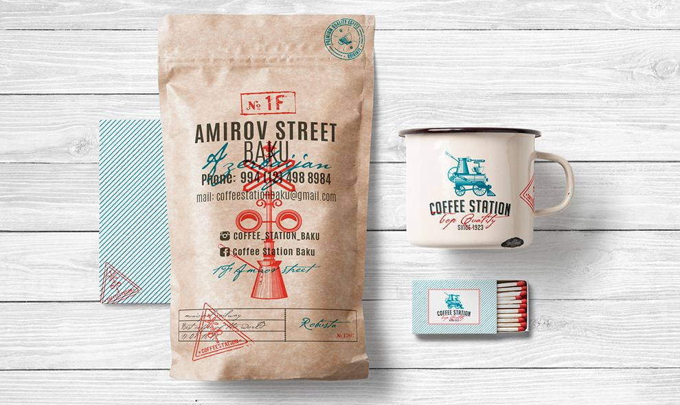 Coffee Station Fun Print Design