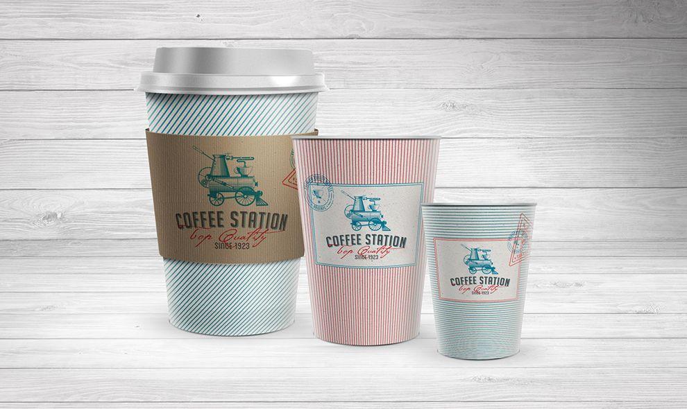 Coffee Station Print Design