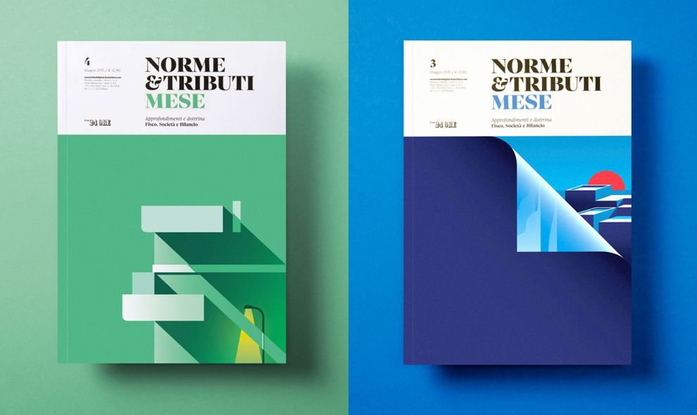 Norme Tributi Mese Covers Print Design