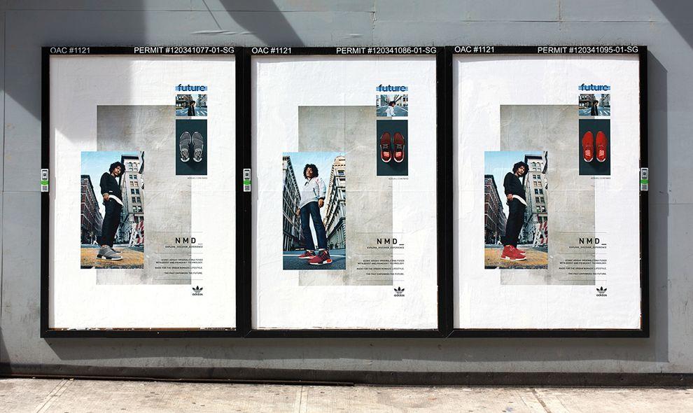 Adidas Originals SS16 Global Campaign Elegant Print Design