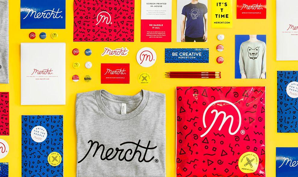 Mercht Vivid Print Design